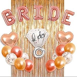 Accessories - Bridal Shower Kit - Rose Gold